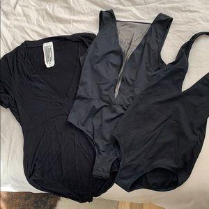 Black bodysuit bundle